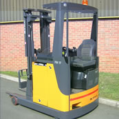 Rental forklift truck South Wales