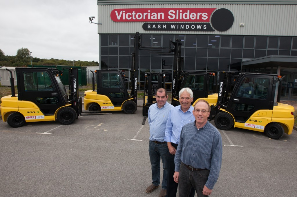 John Summons with Scot Starky and Brendan McCambridge of Victorian Sliders