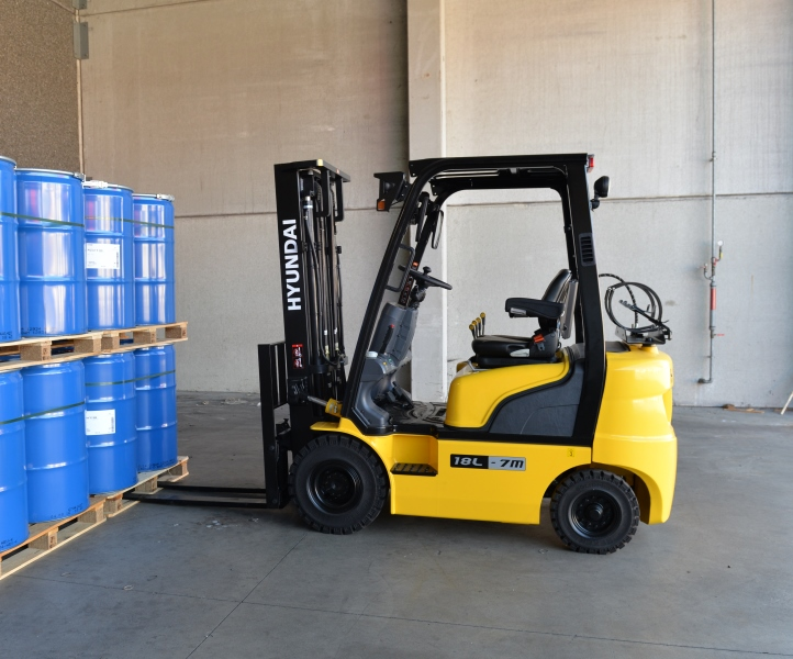 New Hyundai 18L 7M LPG counterbalance forklift truck for sale