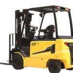Hyundai 22B-9 4 wheel electric counterbalance new forklift truck for sale