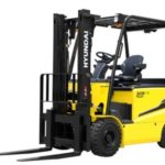 Hyundai 25B-9 4 wheel electric counterbalance new forklift truck for sale
