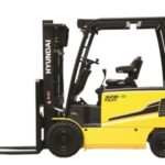 Hyundai 30B-9 4 wheel electric counterbalance new forklift truck for sale