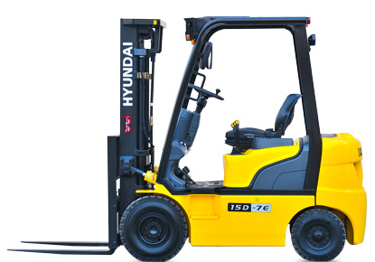 Hyundai 15D-7E diesel counterbalance new forklift truck for sale