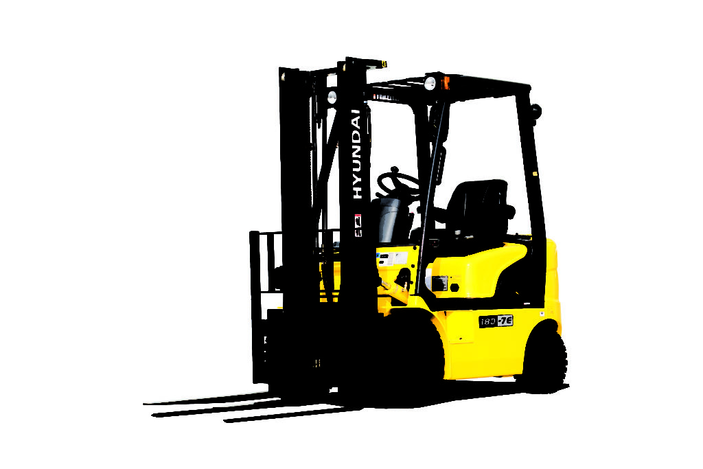 Hyundai 18D-7E diesel counterbalance new forklift truck for sale