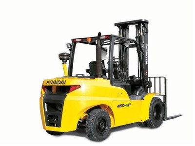 Hyundai 35D-9F diesel counterbalance new forklift truck for sale