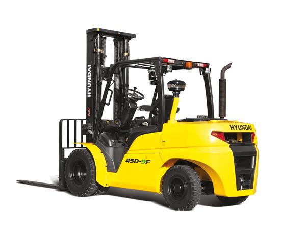 Hyundai 40D-9F diesel counterbalance new forklift truck for sale