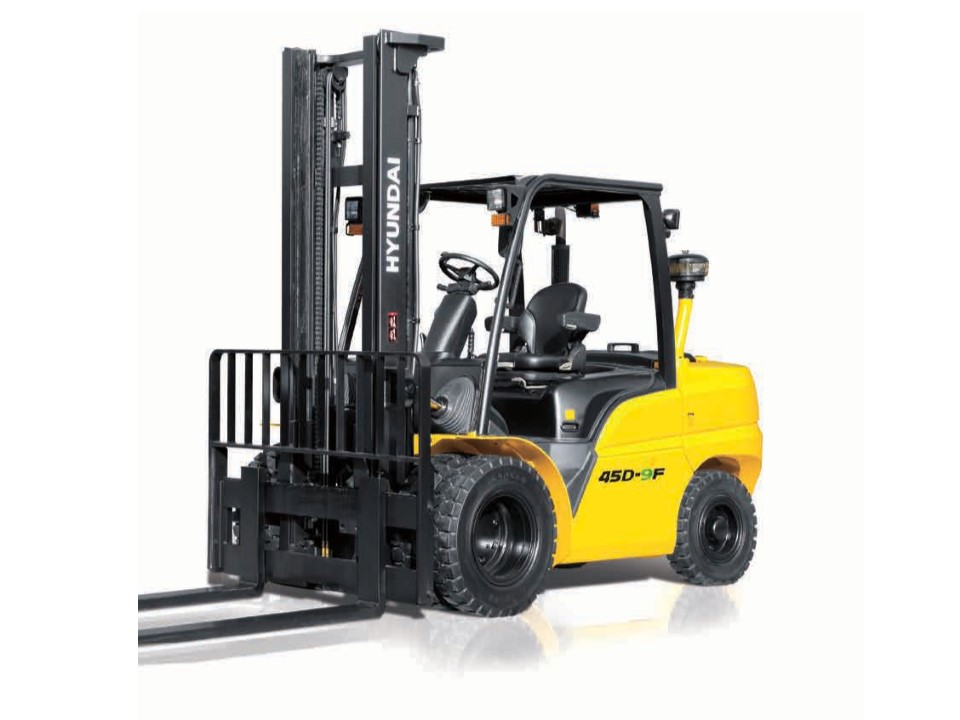 Hyundai 45D-9F diesel counterbalance new forklift truck for sale